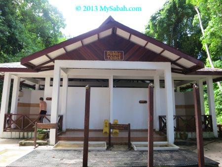 toilet of Sipadan