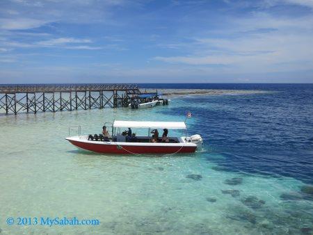 sea of Sipadan Island