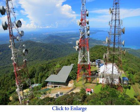 view from Tower of Heaven (Menara Kayangan)