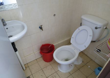 toilet at Tower of Heaven