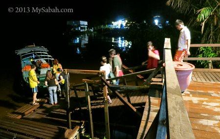 night safari in Klias