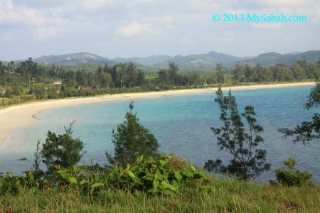 highest viewpoint (Tomanggong Kurantud)