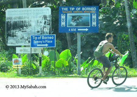 junction to the Tip of Borneo