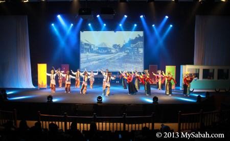 stage of auditorium