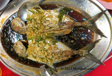 steamed fishes