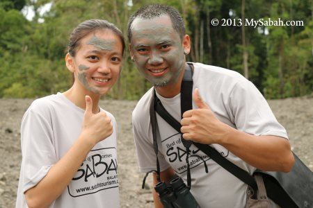 face SPA with volcano mud