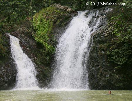 Lipad Waterfall pool