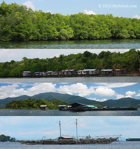 scenery in Darvel Bay