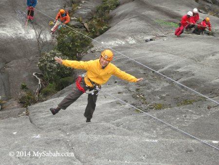 hand free in sport climbing