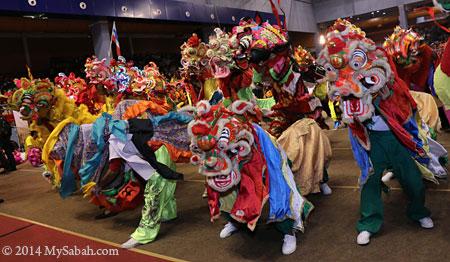 group of qi-ling unicorn