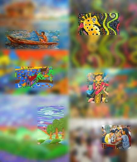 painting in Sabah Art Gallery