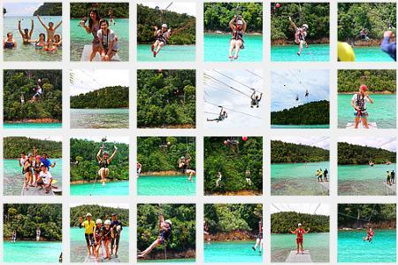 more photos of Coral Flyer zipline