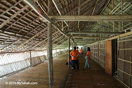 corridor of longhouse