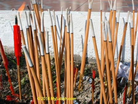 buring incense