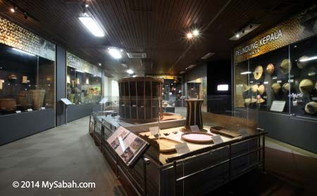 handicraft exhibition of Sabah Museum