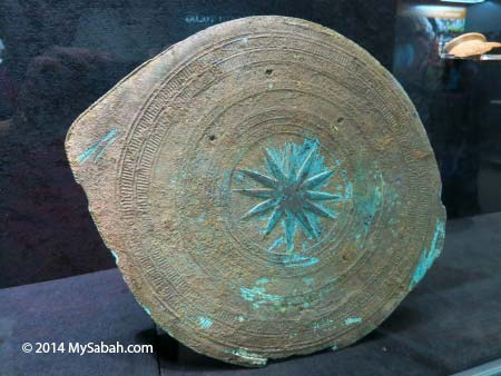 Vietnamese drum from Bukit Timbang Dayang burial site of Banggi Island