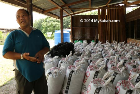 goat dung fertilizer
