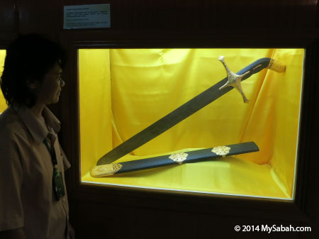 replica of Saidina Uthman bin Affan III sword