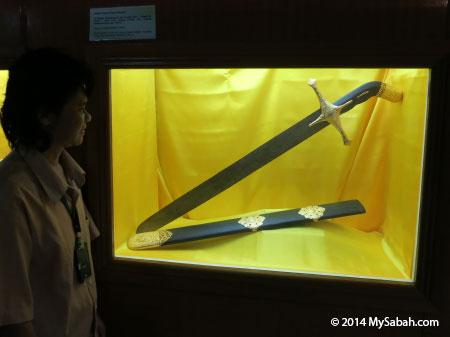 replica of Saidina Uthman bin Affan III sword