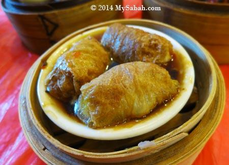 tofu skin dumplings