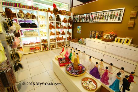 Badeeh Souvenir Shop in Chanteek Borneo Gallery