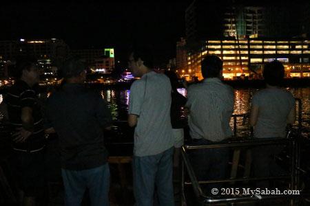 night view of KK City