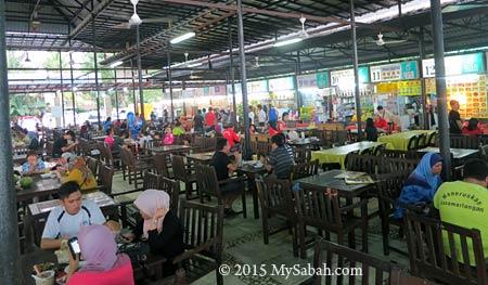 food court of Tanjung Aru