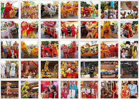more photos of Lion, Dragon and Unicorn Dance Festival