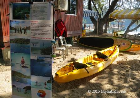 Borneo Stand Up Paddle Boarding on Sapi Island