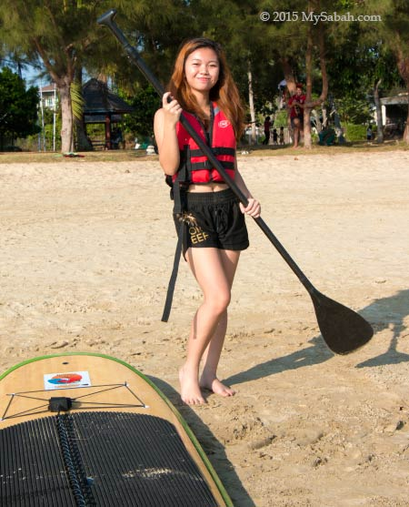 get ready for Standup paddleboarding