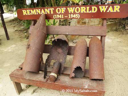 WW2 bombshells on Manukan