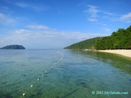 sea of Manukan Island