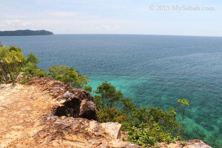 secret cliff of Sapi Island