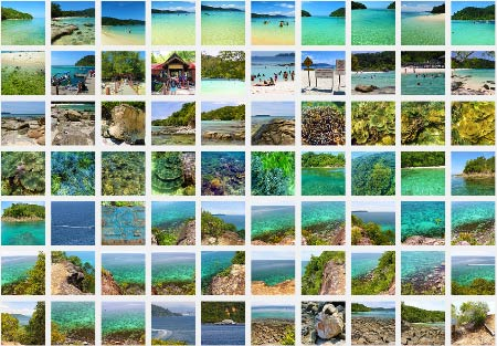 more photos of Pulau Sapi