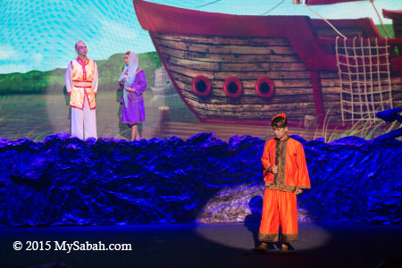 love story in Sabah Fest 2015