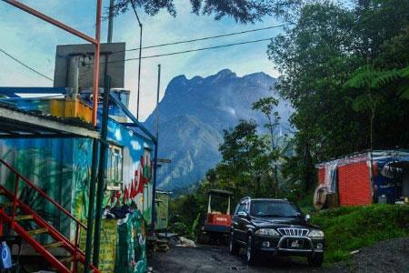 Jungle Jack Backpacker and Mt. Kinabalu