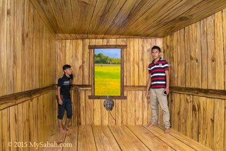Shrinking Room (or Ames Room)