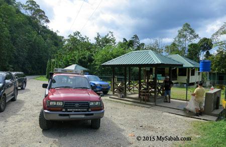 Tobobon Taviu Spring next to Ranau - Telupid main road