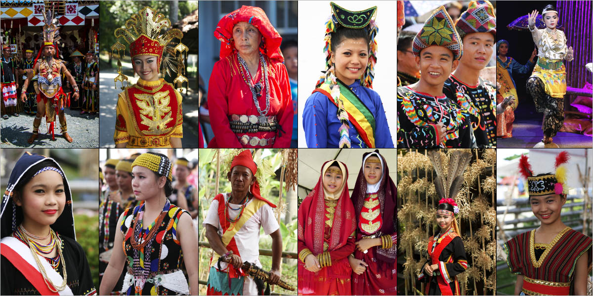 Faces of Sabahans