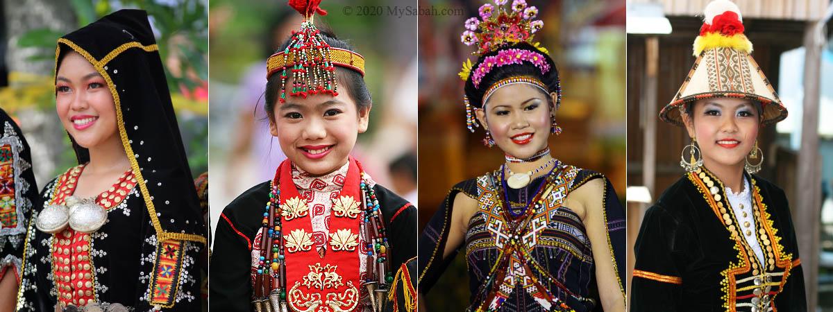 Sabahan girls