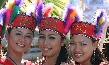Gana girls from Keningau