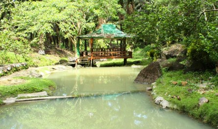 Hot spring of Kunak