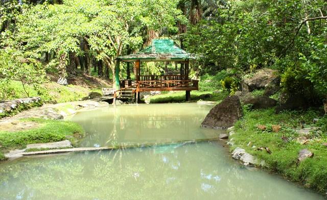 Hot spring of Kunak