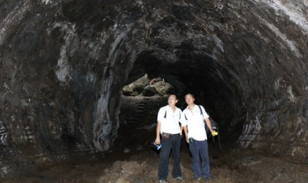 Japanese war tunnel