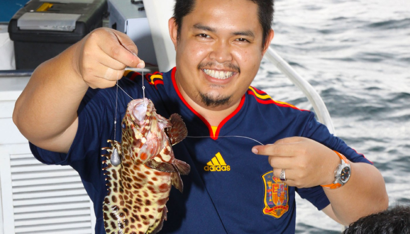 Usukan Cove Fishing