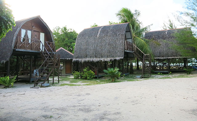 Budget accommodation on Mantanani Island