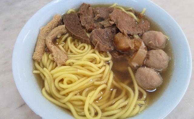 Ngiu Chap Mee (Mixed Beef Noodle)