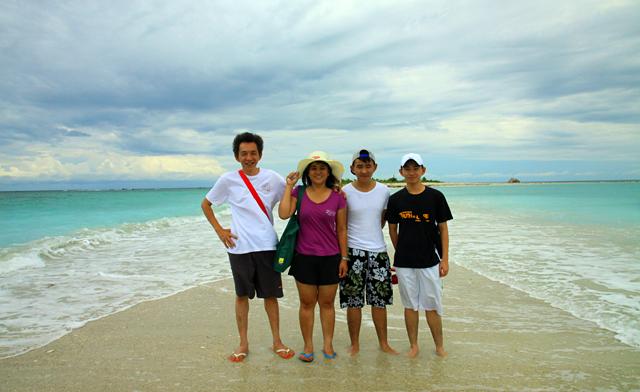 Sands Spit Island (Pulau Kalampunian Besar) of Pulau Tiga Islands