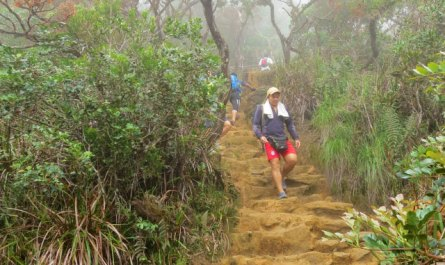 Loop trail of Mt. Kinabalu