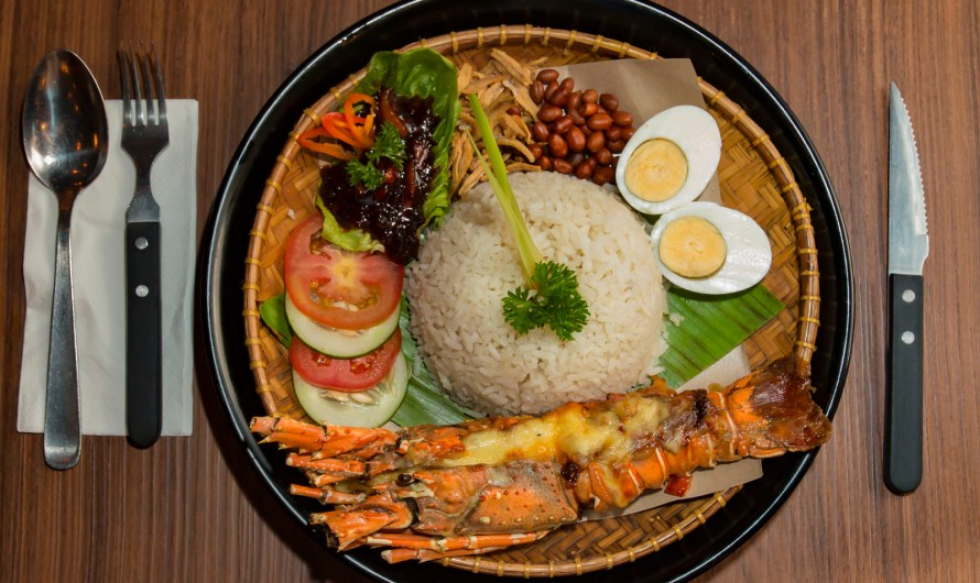 Lobster Nasi Lemak, First in Malaysia